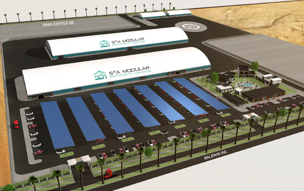 New S2A Factory Rendering 6